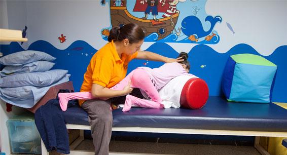 Fisioterapia con ninos